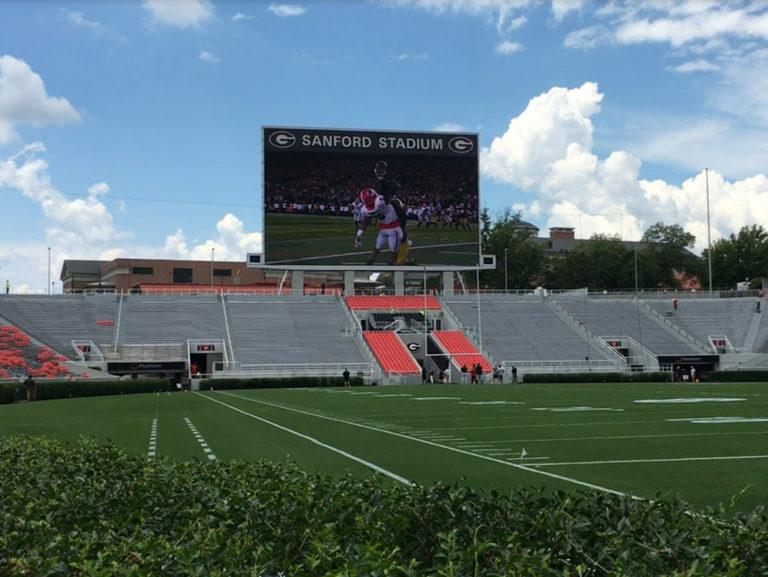 University of Georgia Sanford Stadium West End Improvements