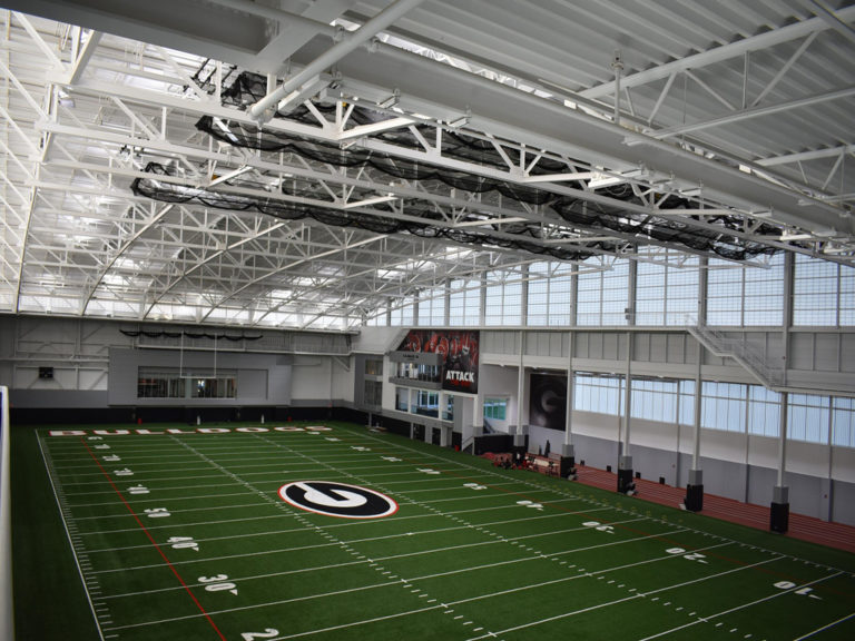 University of Georgia Indoor Athletic Facility