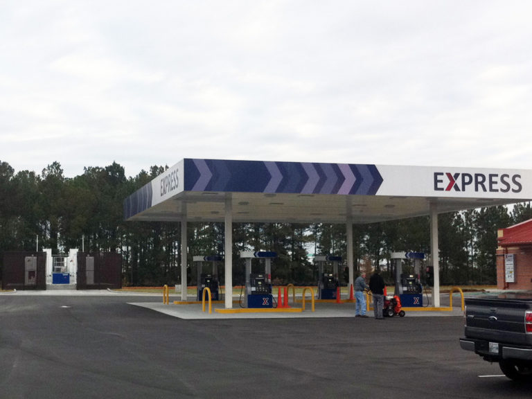 Army and Air Force Exchange Service (AAFES) Mini Mall and Gasoline Sales Facility